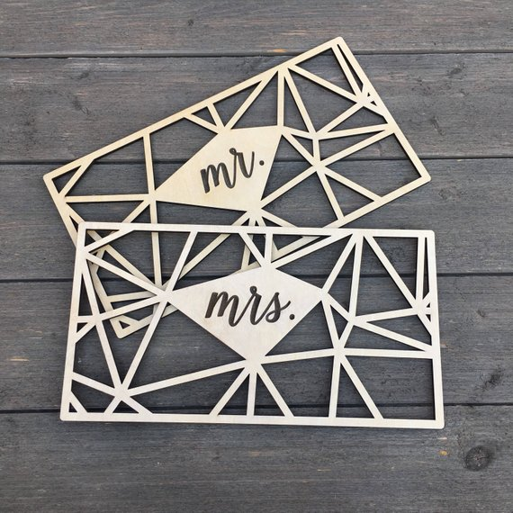 11 Signs for your Wedding Day Chairs - Signs by Ngo Creations