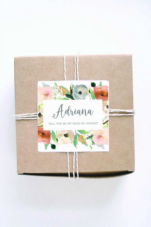 bridesmaid gift box ideas
