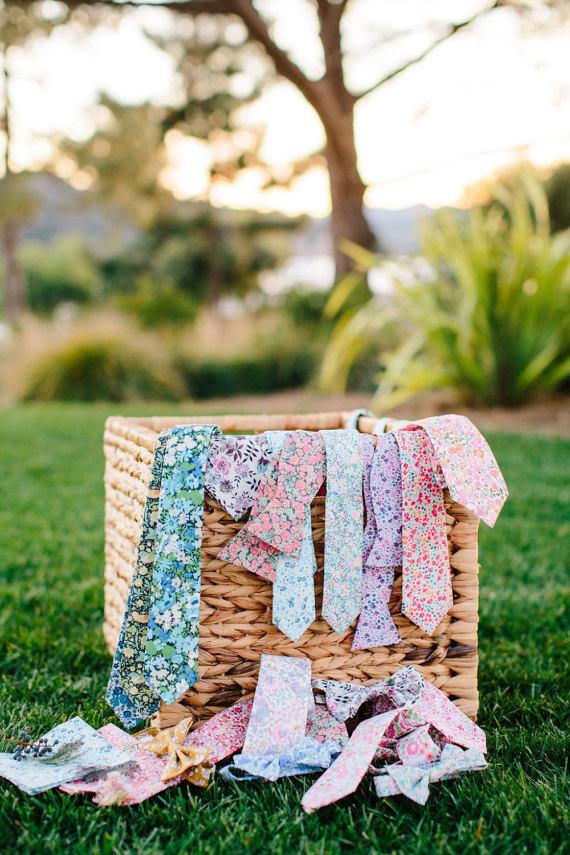 spring wedding ties