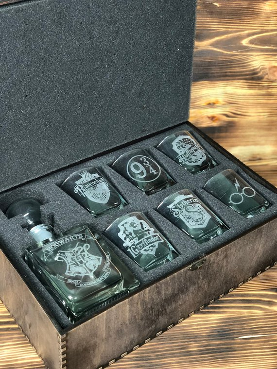 How to Throw a Harry Potter Wedding - Glasses by Best Gifts Ever UA - #wedding #harrypotter #always #muggletomrs