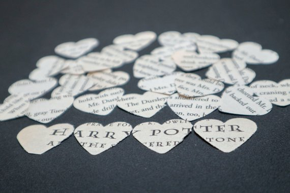 How to Throw a Harry Potter Wedding - Confetti by Ginger Brunette Crafts - #wedding #harrypotter #always #muggletomrs