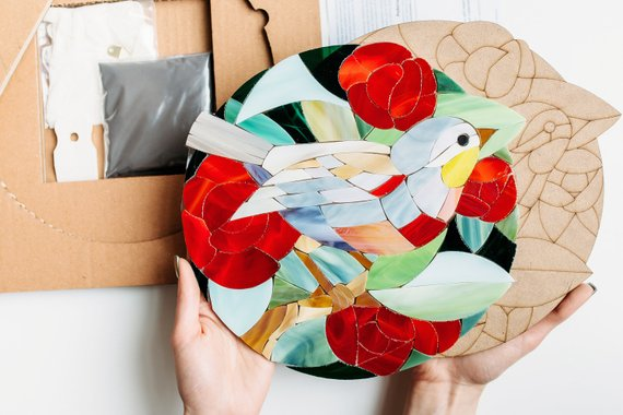 11 DIY Projects for a Crafty Bachelorette - DIY Kit by Love Mosaic Studio - #diy #bachelorette #weddings