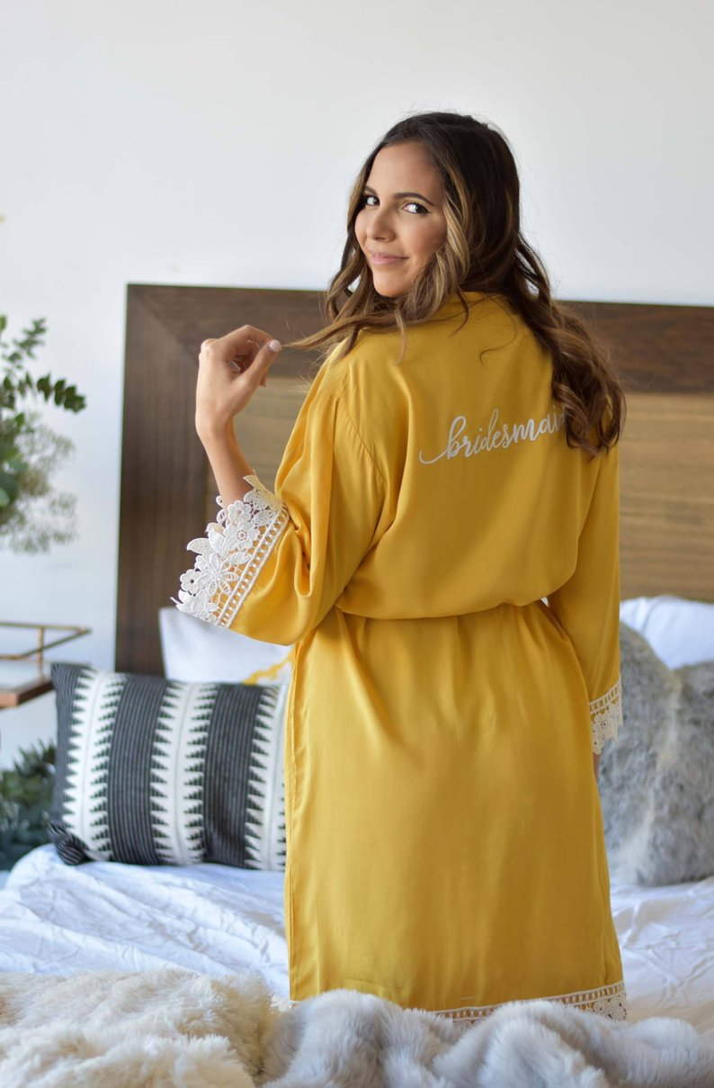 15 Robes for your Bridesmaids - Robe by Blair And Emily - #bridesmaids #wedding #bridesmaidsrobes
