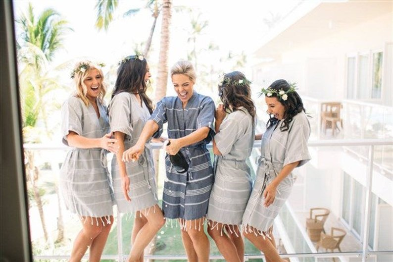 15 Robes for your Bridesmaids - Robes by Turkish Bath Towel - #bridesmaids #wedding #bridesmaidsrobes