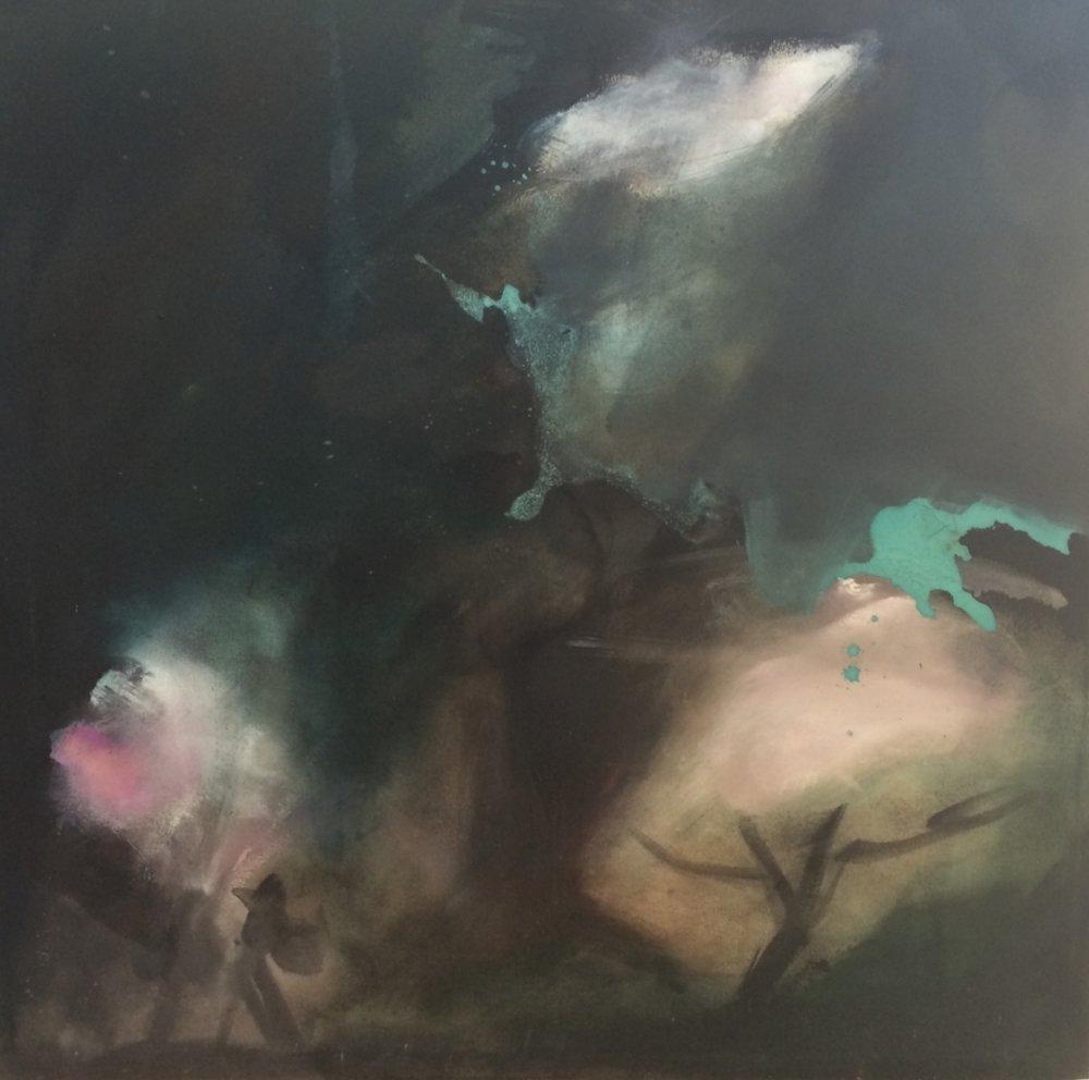 Castlefreke awake, oil on canvas 2016 60x60cm 2017