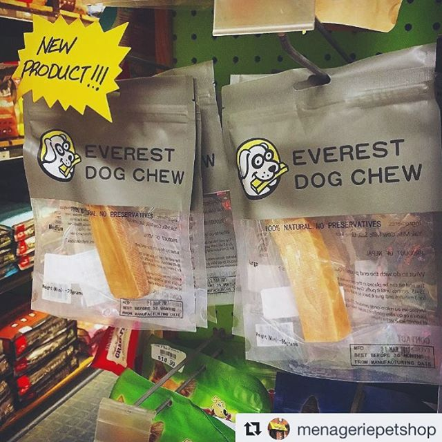 Have you checked out @menageriepetshop in #Toronto? They carry our #everestdogchew and offer #freedelivery to many parts of the city. Join the #EverestPack and pay them a visit. A perfect #healthydogchew for your #furriend this holiday season 🎄 ! #dogsgiving #dogsoftoronto #dogsofinstagram #dogsofcanada #cute #healthy #natural #organic #himalayantreat #yakcheese #love #doglover #dogdad #dogmom #pawrents #ilovedogs #dogs #dogsofig #nopreservatives  #dogsofontario #greatertorontoarea #santapaws —————————————————————————— Our products are available online! Follow the link in bio!#naturaltreatsmadesimple 🐾