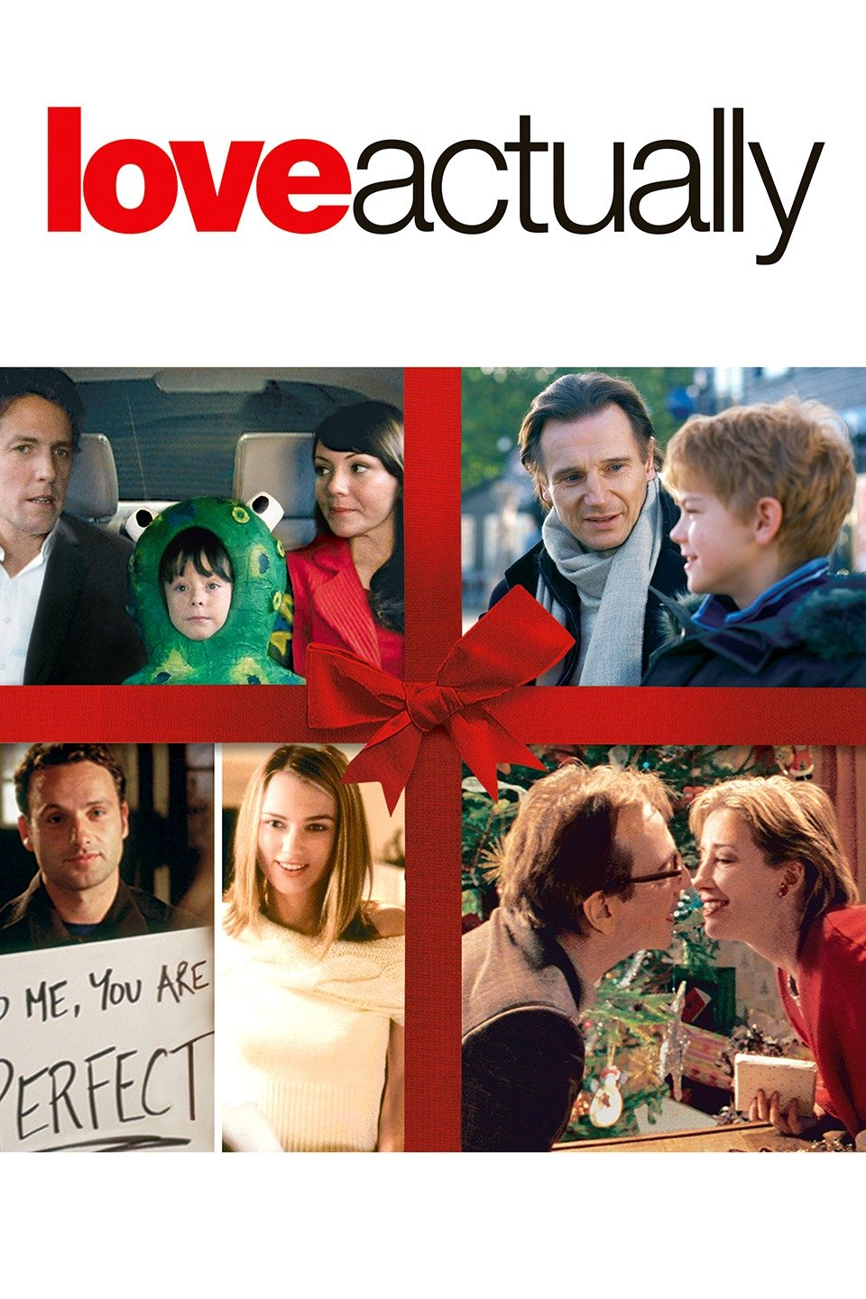 Love Actually - Ok so this is my pick. And while all story lines may not be totally family friendly, for the teens and adults this one will bring laughs and maybe a tear or two.