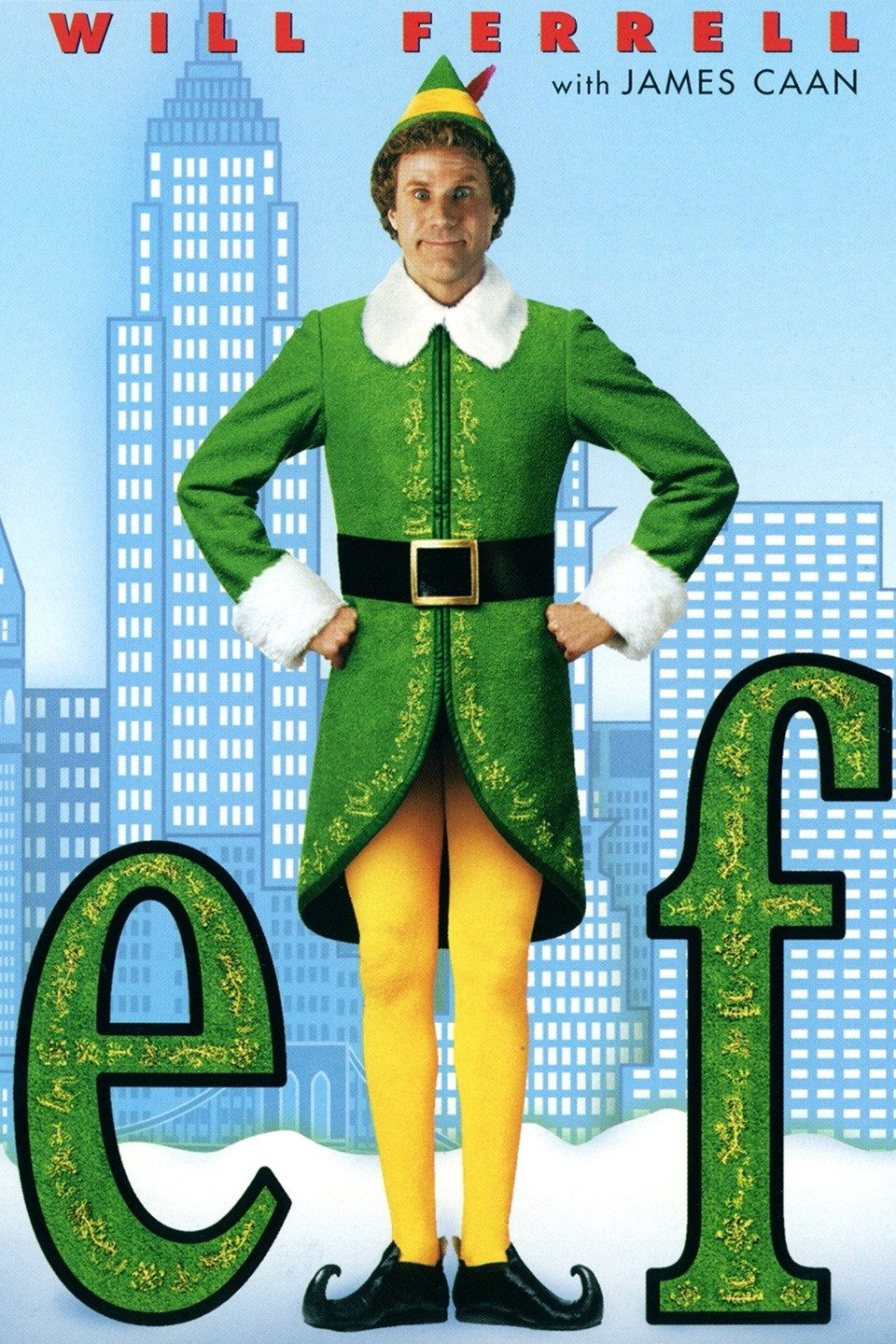 Elf - For cotton headed ninny muggins everywhere. Elf is such a delightful Christmas movie. We may have been late to the Elf party, only discovering this gem a few years back thanks to my Goddaughter, but since then it's become a Christmas staple.