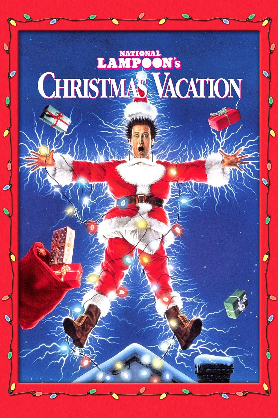 Christmas Vacation - If you're in need of some silly humor and holiday fun, this is the movie. And it's a fun reminder that try as hard as we do, the best Christmas plans will go awry. So go with it. Besides who hasn't watched this movie and not been inspired to totally Griswold the house with a million blinking lights?