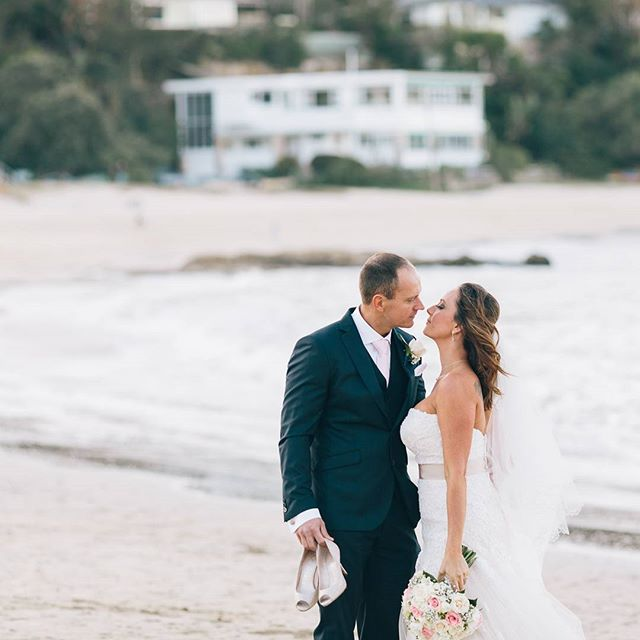 Happy First Anniversary Roger and Aleta!  #balmoralwedding #mosmanwedding #orsobaysidereception #kristytoepferphotography #love #bride #groom #sydneywedding #hillsweddingphotographer