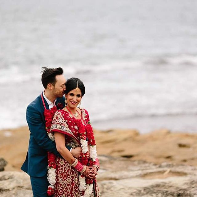 Alex +Amrit #married #mrandmrs #love #manlywedding #manlyweddingphotographer #novotelmanly #novotelmanlyweddings #kristytoepferweddingphotography #sydneyweddingphotographer @makeupgurushak @marriage_celebrant_claire @novotelmanlypacific