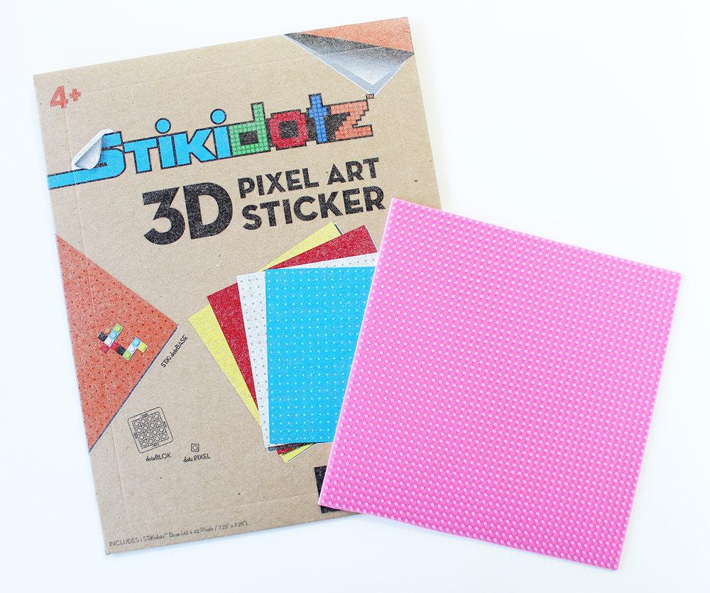 Large STiKidotz Base (42x42pixel)  Pink