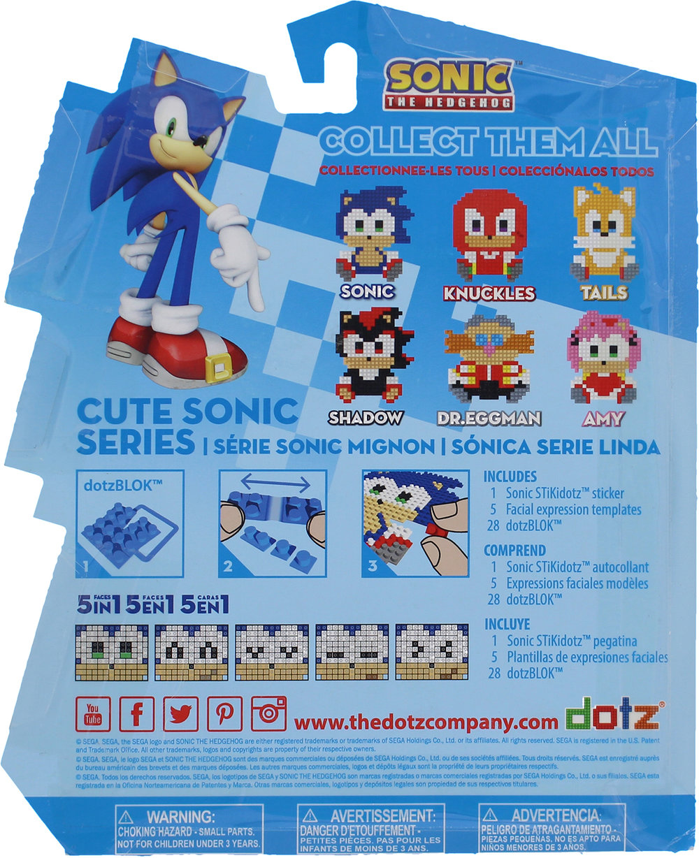 Back of Cute Sonic Box
