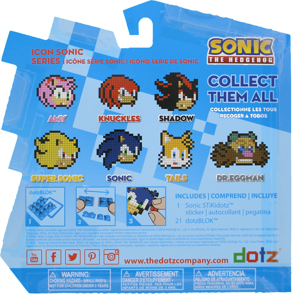 Back of Icon Sonic Box