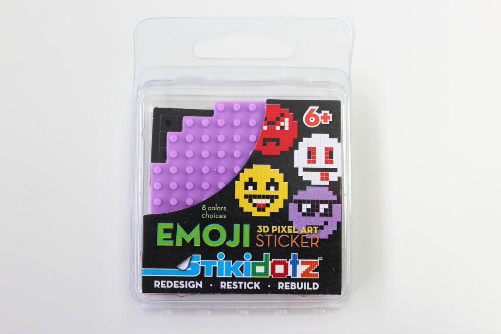 Purple Emoji Sticker