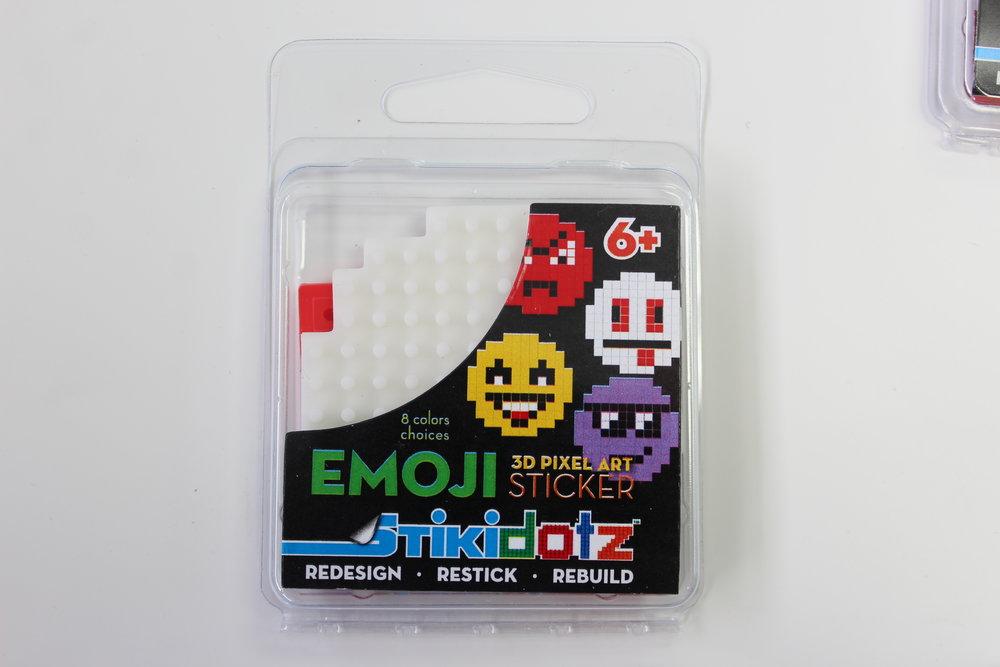 White Emoji Sticker