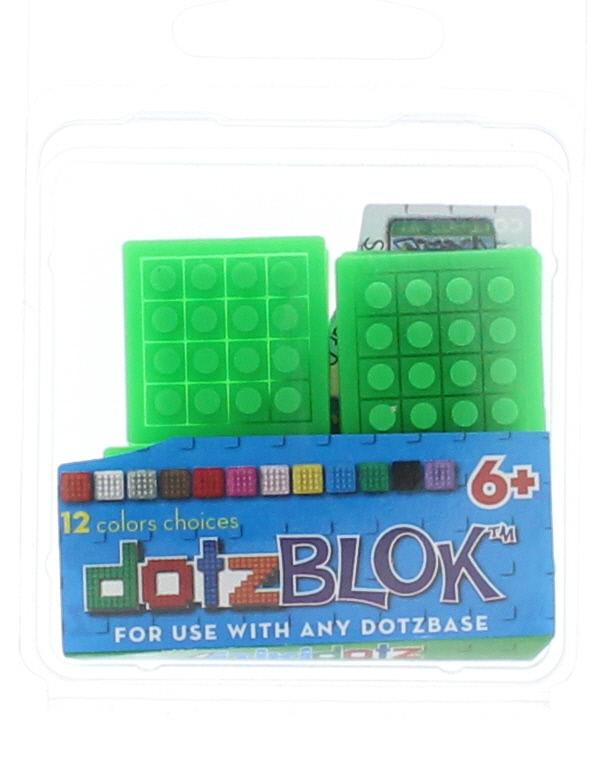 8 dotzBLOKs: Green