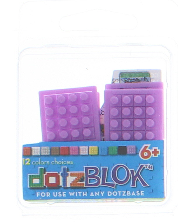 8 dotzBLOKs: Purple