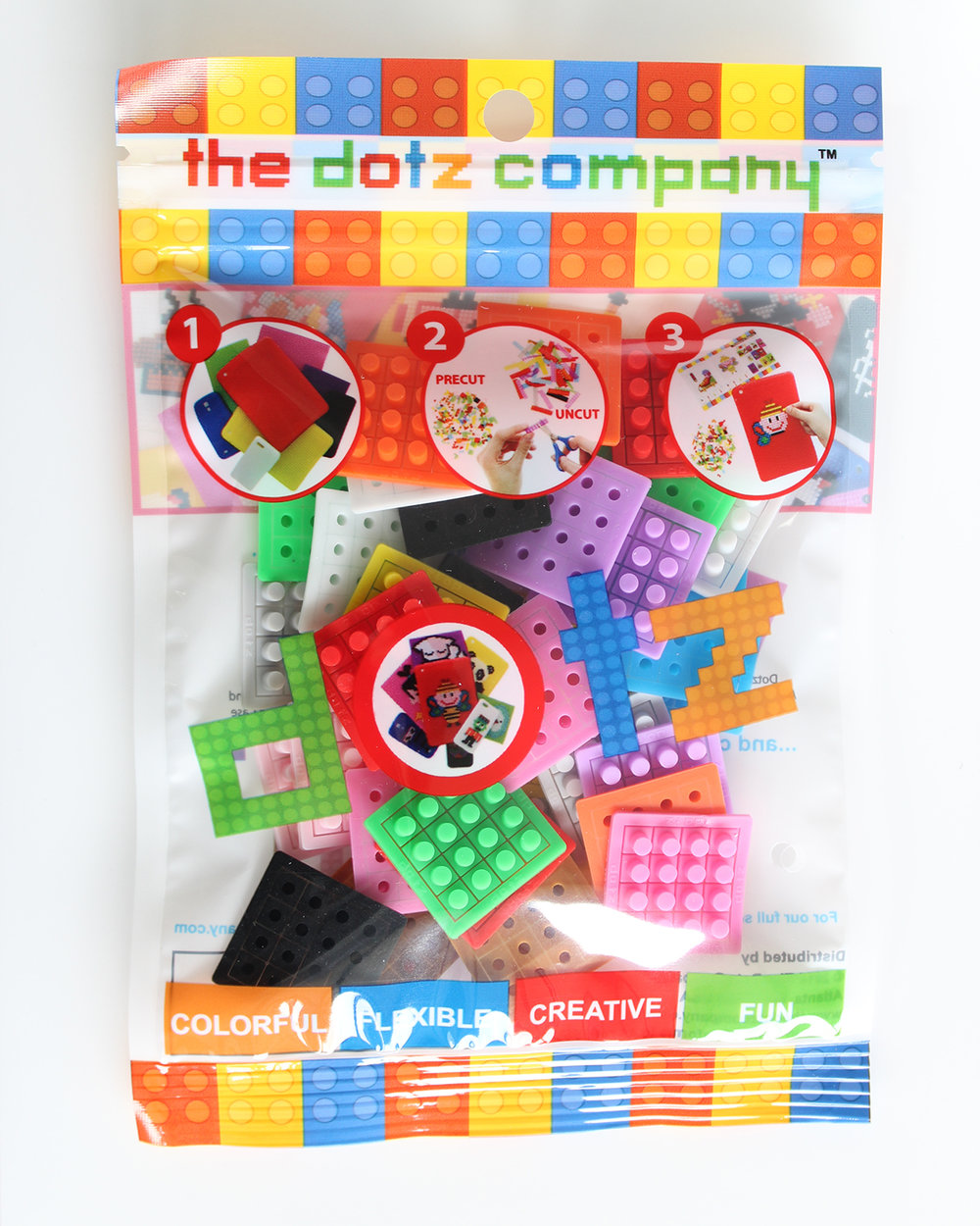36 dotzBLOK Mixed Pack. 3 of 12 colors