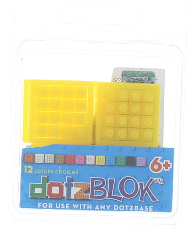 8 dotzBLOKs: Yellow