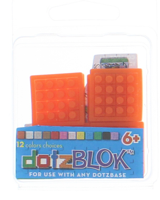 8 dotzBLOKs: Orange