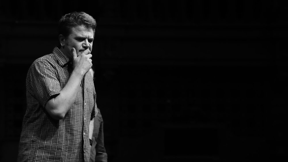 John Michael Higgins at Theme Park Improv at SF Sketchfest, January 16, 2016. Photo by Steve Agee.