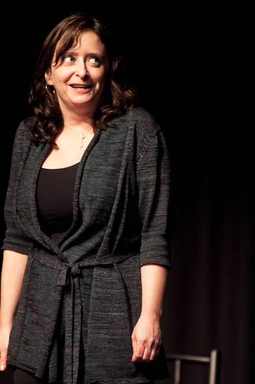 Rachel Dratch at Theme Park Improv at SF Sketchfest, January 29, 2010. Photo by Ameen Belbahri.