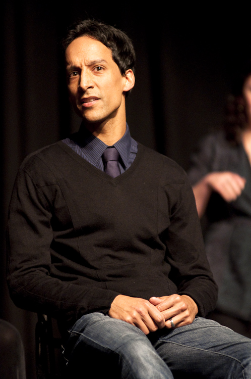 Danny Pudi at Theme Park Improv at SF Sketchfest, January 29, 2010. Photo by Ameen Belbahri.