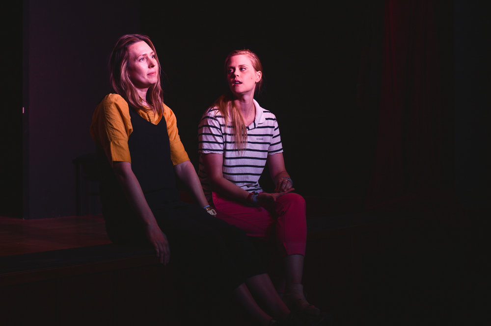 Jessica Makinson and Janet Varney at Theme Park at Bridgetown Comedy Festival, June 4, 2016. Photo by Deira Bowie.