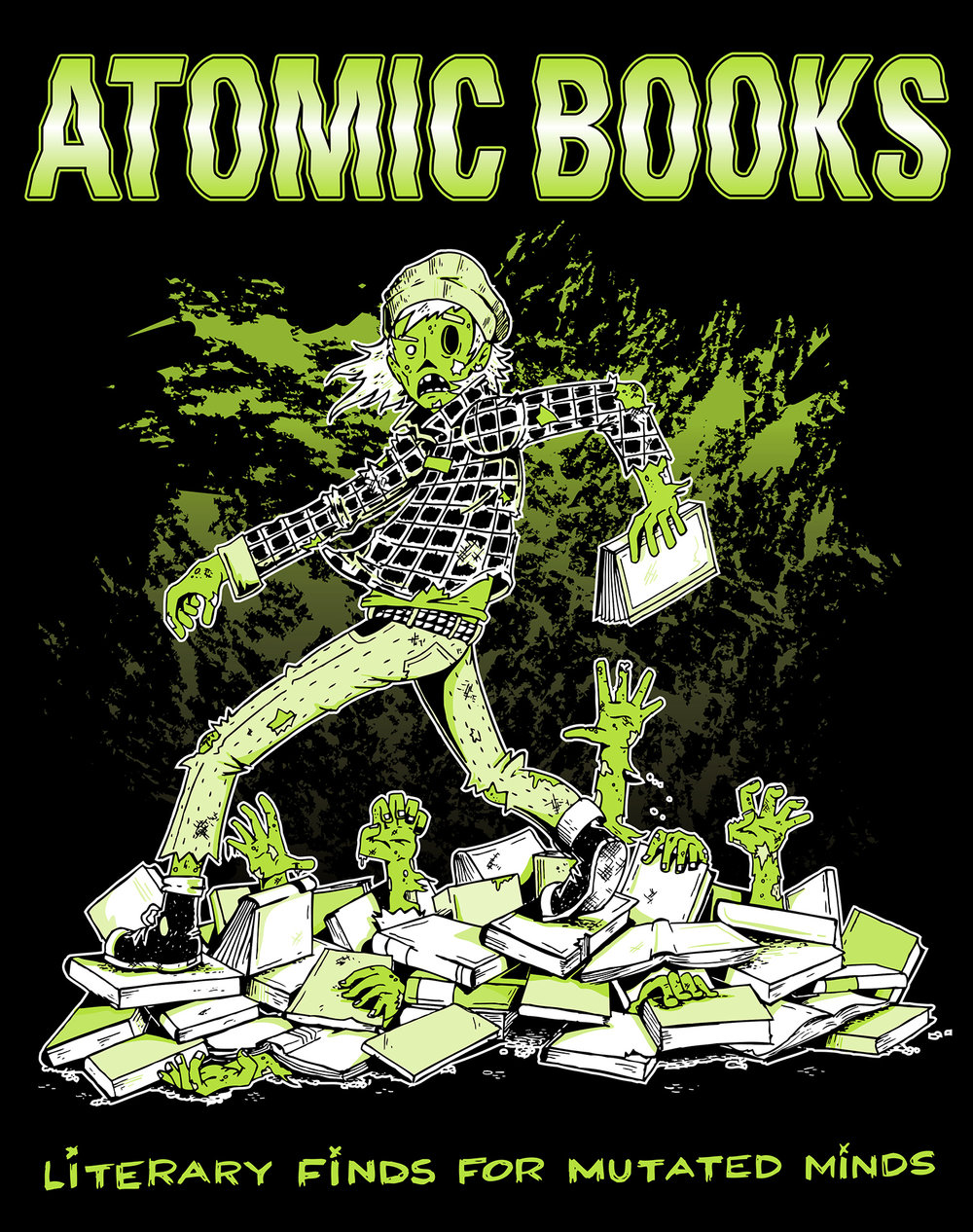 Atomic Books Poster