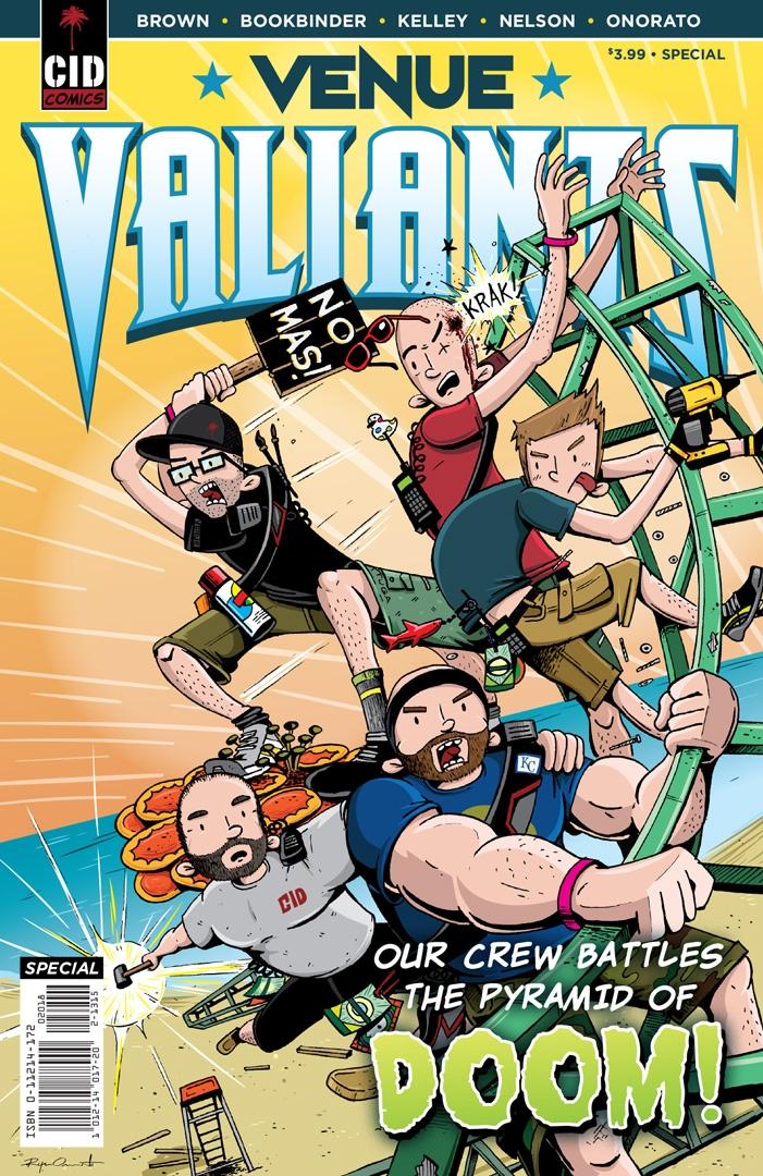 Ryan Onorato-Venue Valiants Cover