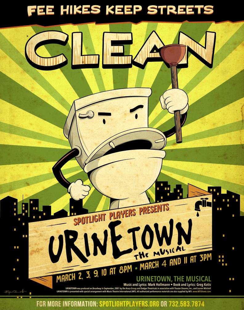 Ryan Onorato-Urinetown Ad