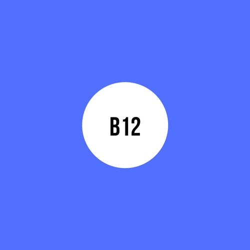 VITAMIN B12 - LIKE THE OTHER B VITAMINS, IT'S IMPORTANT FOR METABOLISM. IT ALSO HELPS FROM RED BLOOD CELLS AND MAINTAIN THE CENTRAL NERVOUS SYSTEM