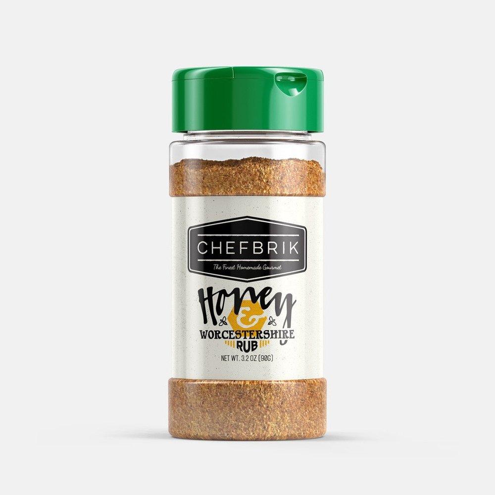 Buy Now! - Chef Brik Honey & Worcestershire Rub