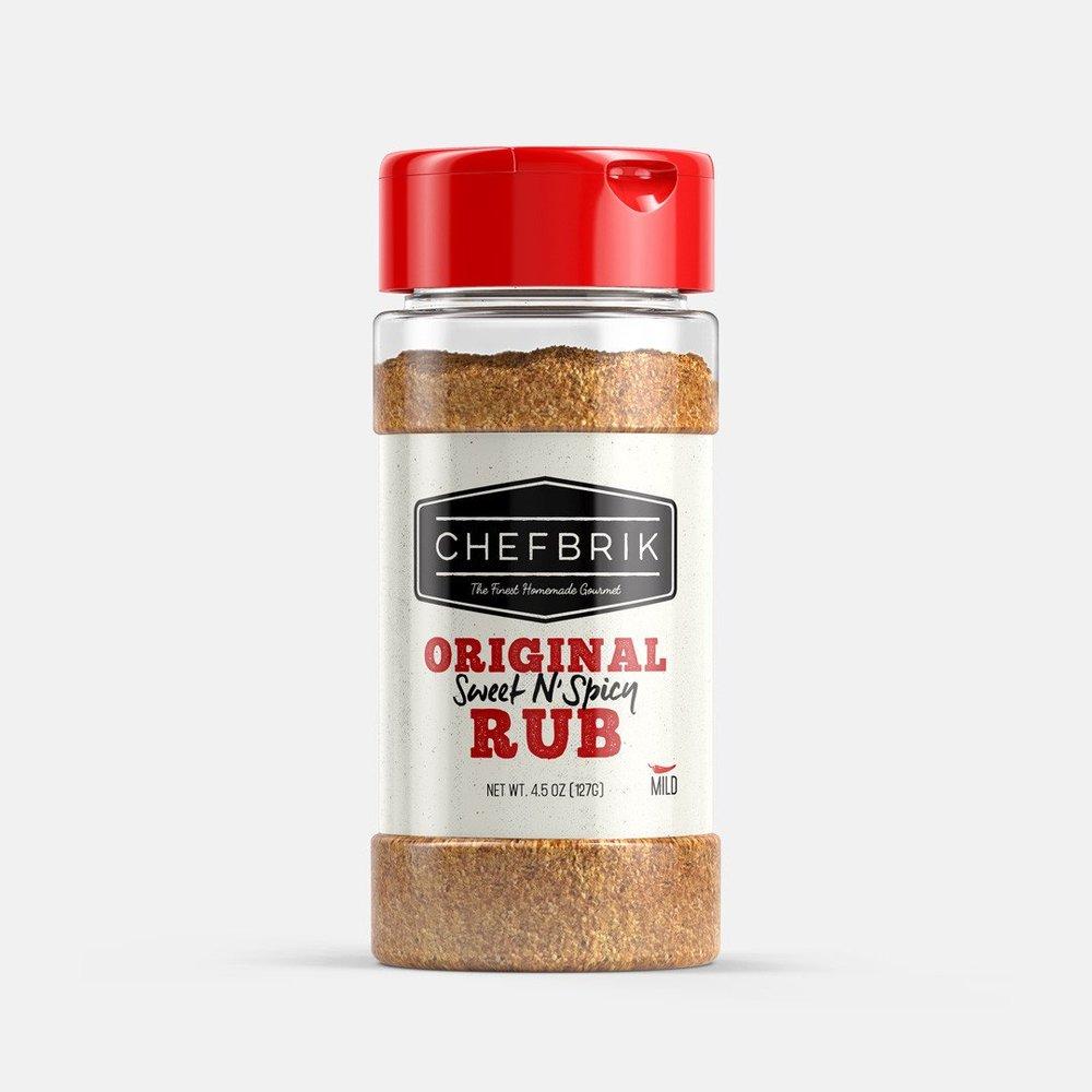 Buy Now! - Chef Brik Original Sweet N' Spicy Rub