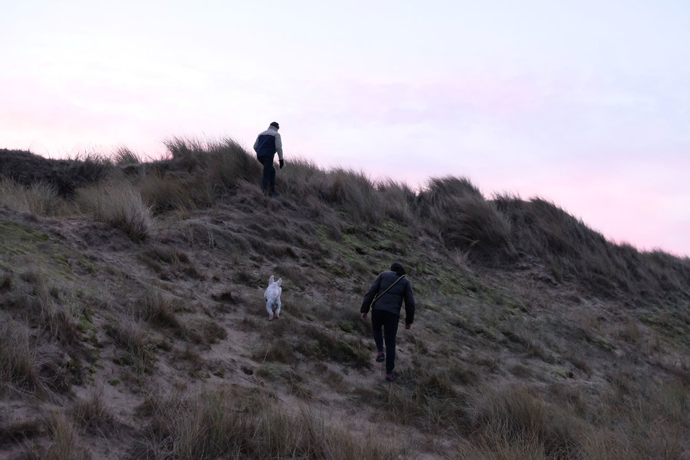 Between daily walks on the sand dunes and the gardening, we keep our bodies moving