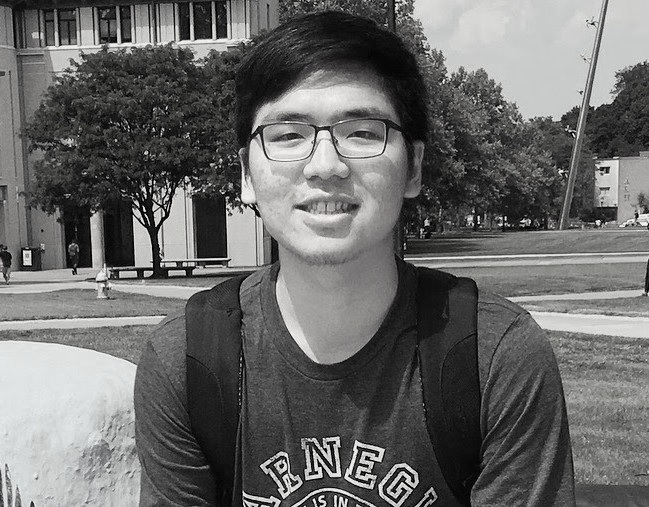 """Xun Cao - Xun is a freshman at UW intending to major in Computer Engineering. He is particularly interested in building robots and creating interactive physical computing systems. """"Slip Rabbit creates an environment for solving problems creatively and cooperating with people from other disciplines. That's why I enjoy spending time at the studio."""" In his spare time, Xun likes to play basketball, tennis and video games, and to write more bugs in his programs."""