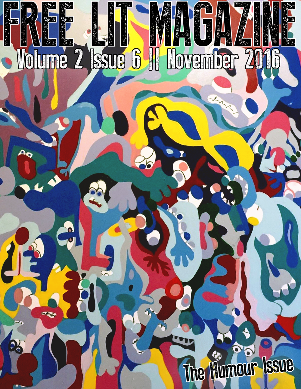 volume 2 issue 6 (art by barry johnson)