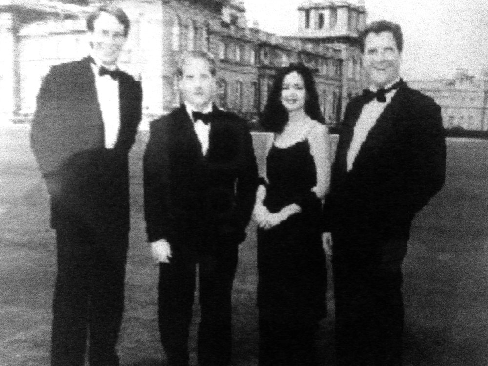 Howarth & Smith, Annual Black Tie Dinner, Blenheim Palace, Oxfordshire, England May 9, 1998 Partners (Left to Right) David K. Ringwood, Brian D. Bubb, Suzelle M. Smith and Don Howarth