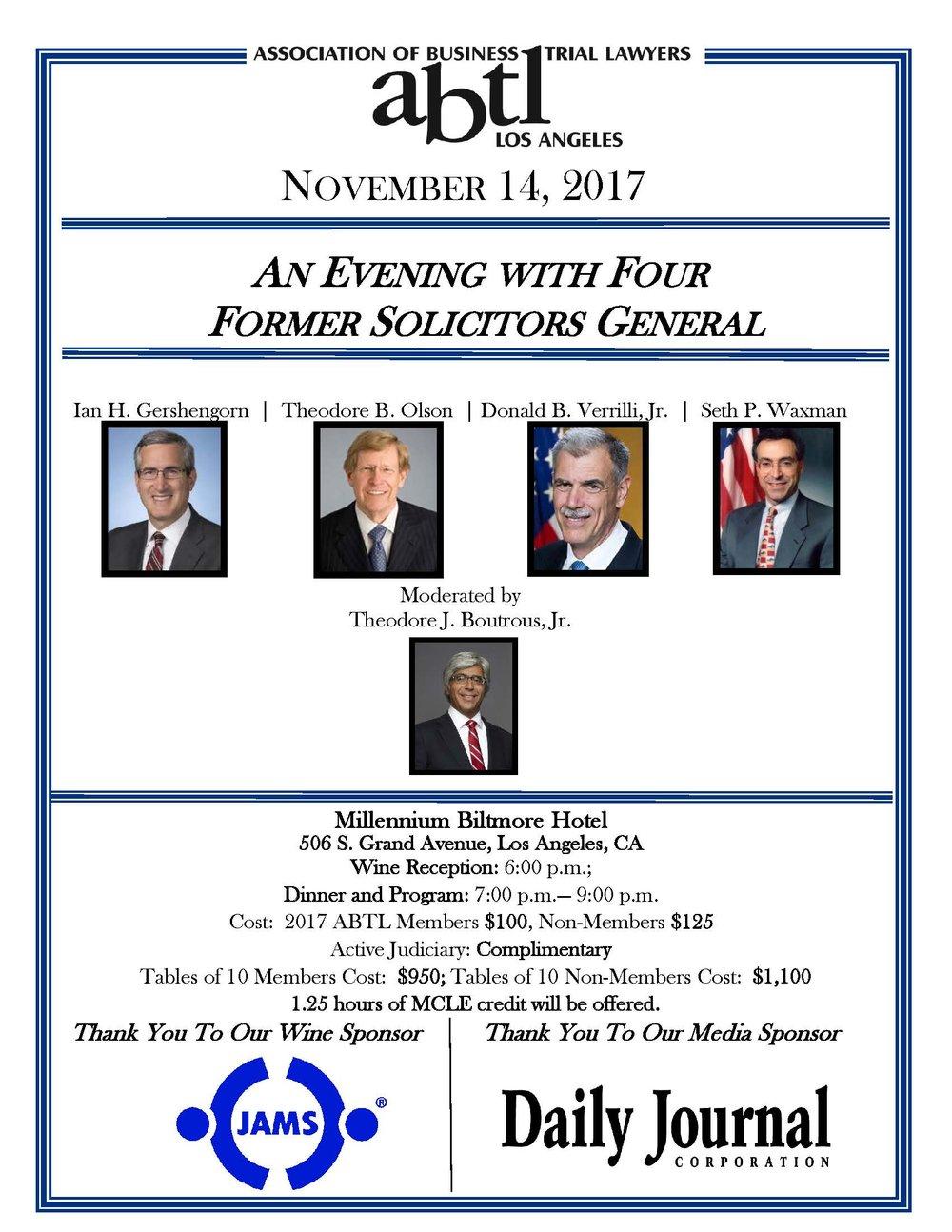 Nov 2017  Dinner flier -- Four Former Solicitors General.jpg