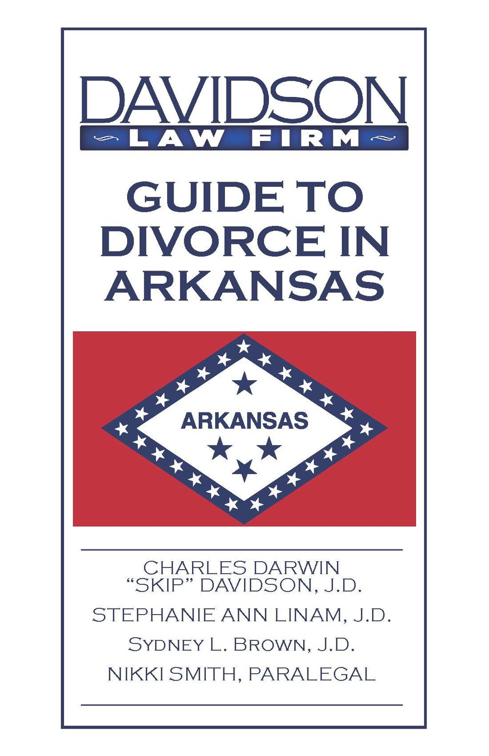 Guide to Divorce in Arkansas - Davidson Law Firm