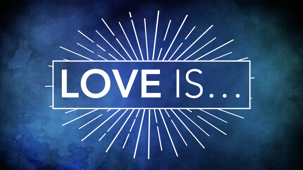 "Our current  sermon series  explores the idea of ""Love is..."" this weeks message is:   Love is a Verb - 1 John 3:11-18 - Jon Tolly   Sunday sermon notes  for November 19, 2017  The Life Group study guide is used for the weekly Life Group meeting  LIFE GROUP STUDY GUIDE"