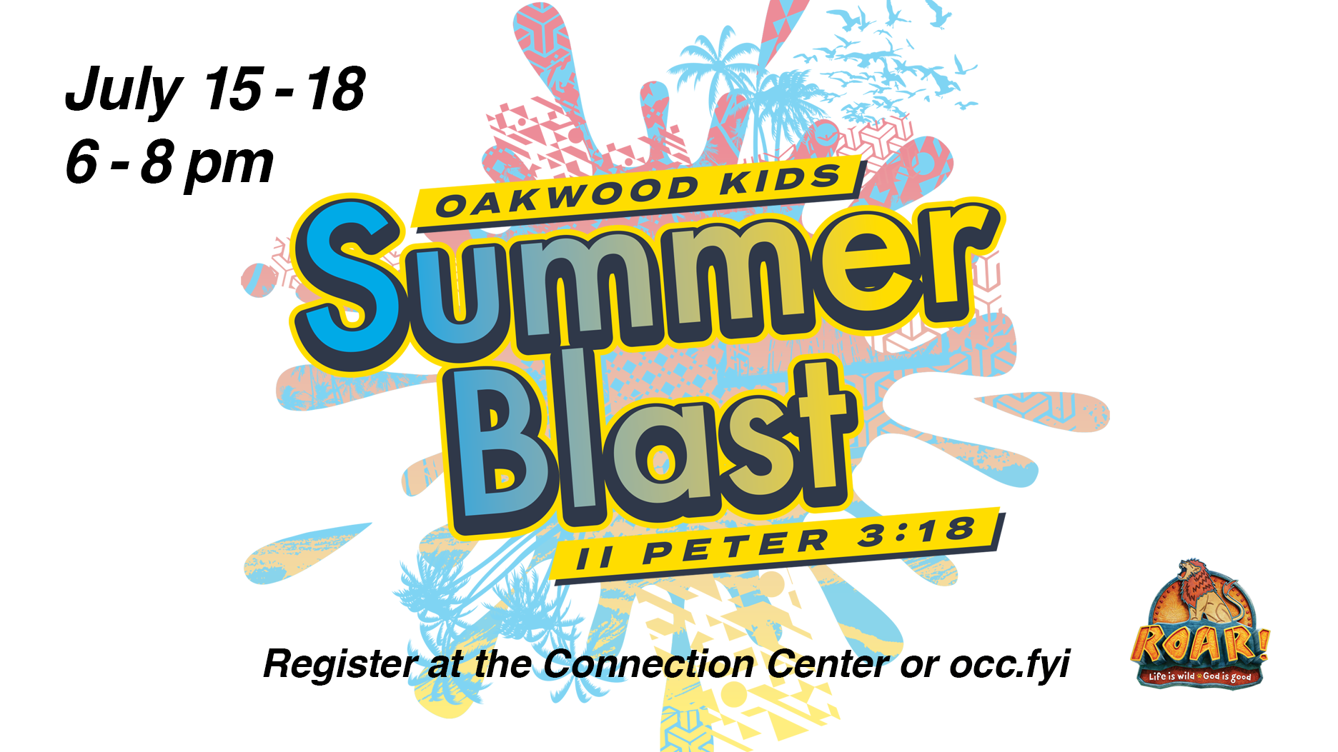 Events & Registration & Announcements — Oakwood Community Church