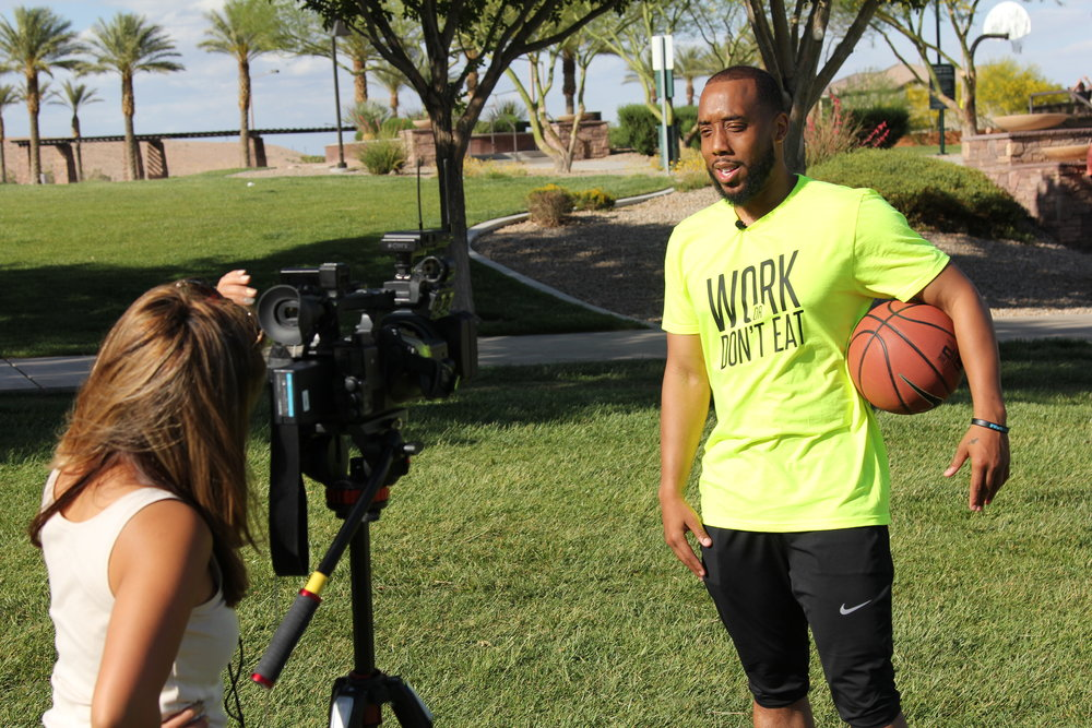 Channel 13 News (Las Vegas, NV) - LAS VEGAS (KTNV) Channel 13 News- Featured Journee For Cures Founder, Jermaine Seagears. After defeatingDiffused B-Cell Non Hodgkins Lymphoma Cancer, Jermaine Seagears is still inspiring the Las Vegas community with his motivation, sports training and active-healthy lifestyle.May 16th, 2018