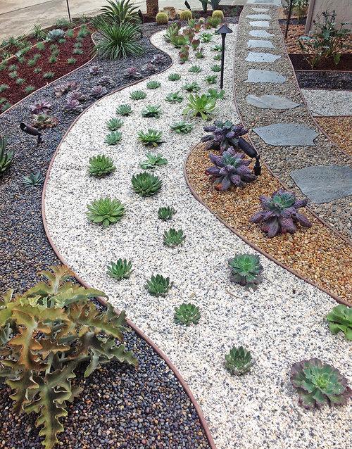 pebbles-river-rocks-flagstone-gravel-walkways-drought-tolerant- - California Friendly Landscapes — Floresartscape.com