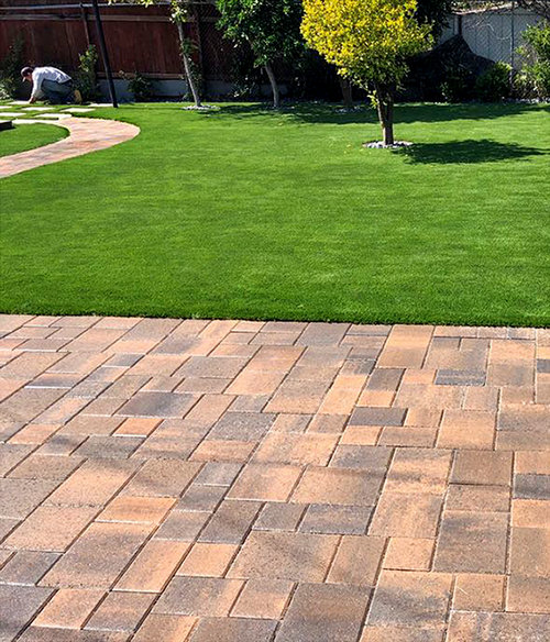 paver stone patio walkway - Paver Stone Patio