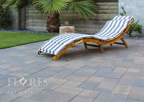 landscaping paver stone patio glendale ca iver rocks - Paver Stone Patio