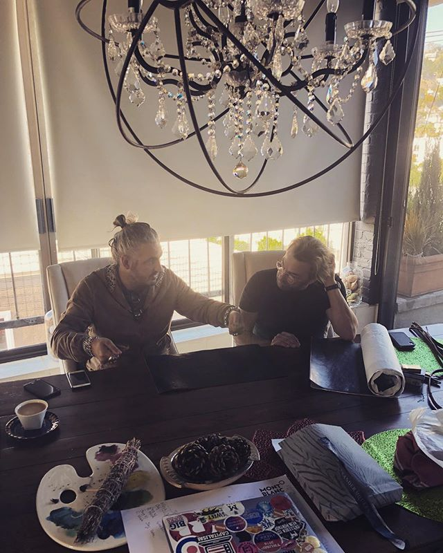 Talking about new products and designs for 2019.  #italiandesigner #madeinitaly #photography #photographer #house #leica #beunique #handmade #leather #coffee #viking #weho #penthouse #design