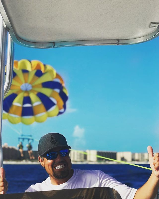 We love parasailing, how about you?! Book your trip with wetnwild and mention this for $5 off a flyer!! Also doing a giveaway for 1 free hour on a jet ski if you post your best beach pic and tag us! Winner announced Friday at 11am