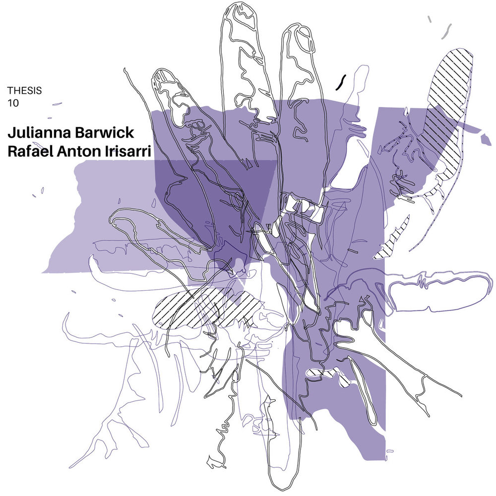 "Julianna Barwick & Rafael Anton Irisarri - Thesis 10   Year: 2017 Label: Thesis Productions Country: United States Format: 10"" Vinyl"